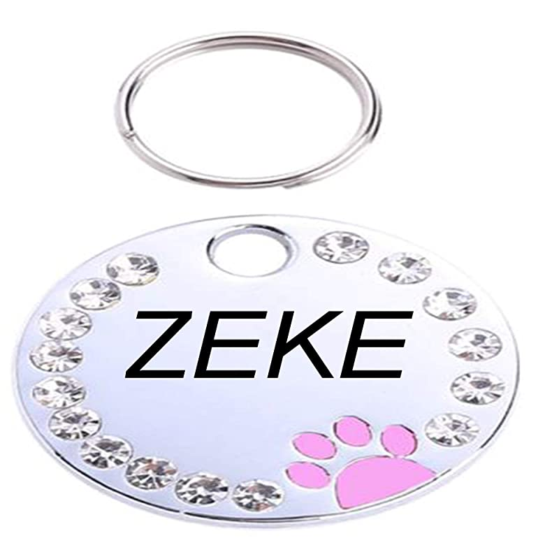 personalized custom dog Picture id tag-PDCBP Anicelook high grade stainless steel