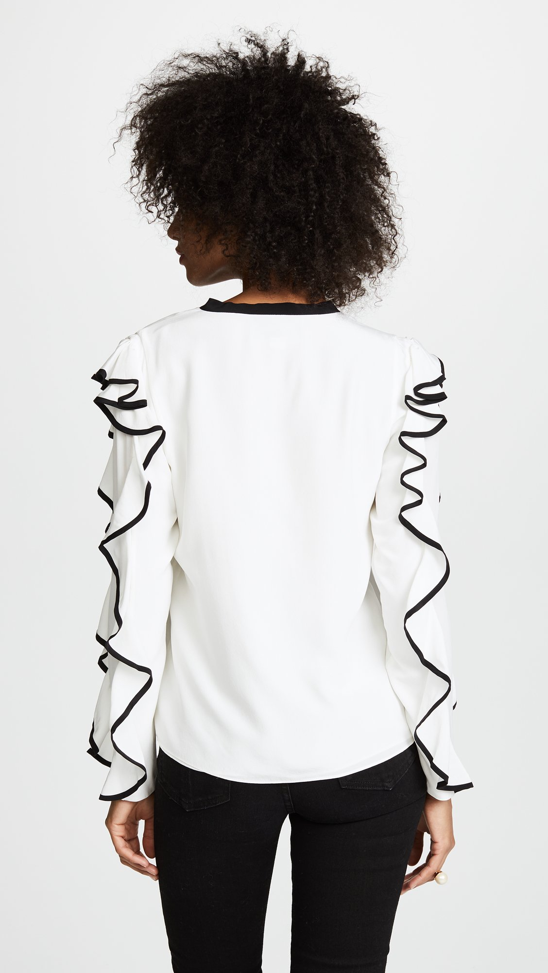 Alexis Women's Darcy Top, Off White, Medium by Alexis (Image #3)