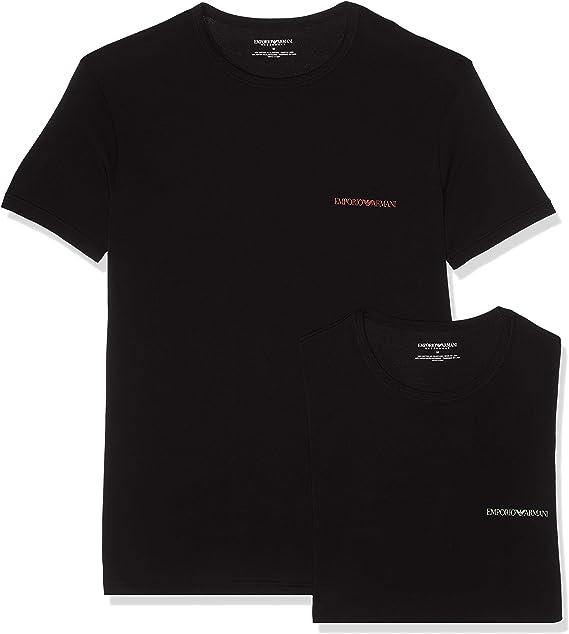 TALLA M. Emporio Armani Underwear Camiseta para Hombre