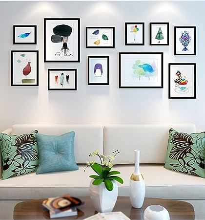 HJHY® Photo Wall, Photo frame parete soggiorno moderno Simple Photo ...