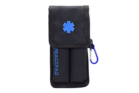 Amazon Com Reactpaq Epipen Carrying Case Allergy Shot Case For