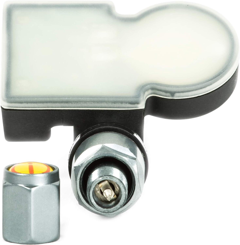 4x RDKS TPMS Reifendrucksensor Reifendruckkontrollsystem Metallventil DarkGrey passend f/ür NX Serie 4260730070
