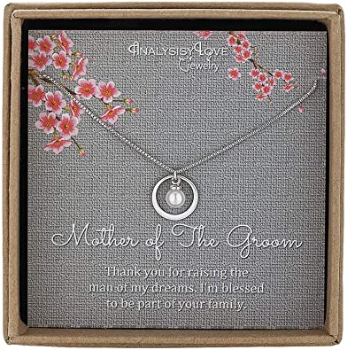 Mother Son Necklace Gifts for Mom Gifts from Son to My Mom Gifts for Mother Jewelry Gifts for Mothers Day Gifts for Mother of the Groom Gifts from Son Sterling Silver 925 Necklace