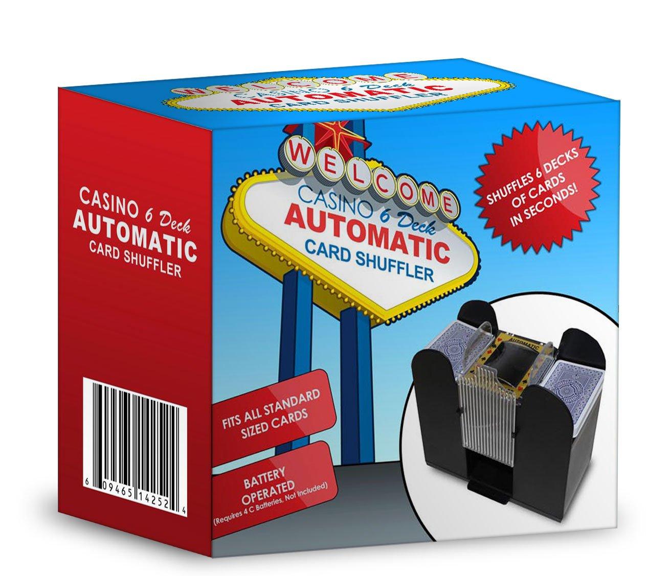 Brybelly GSHU-003 Casino 6 Deck Automatic Card Shuffler
