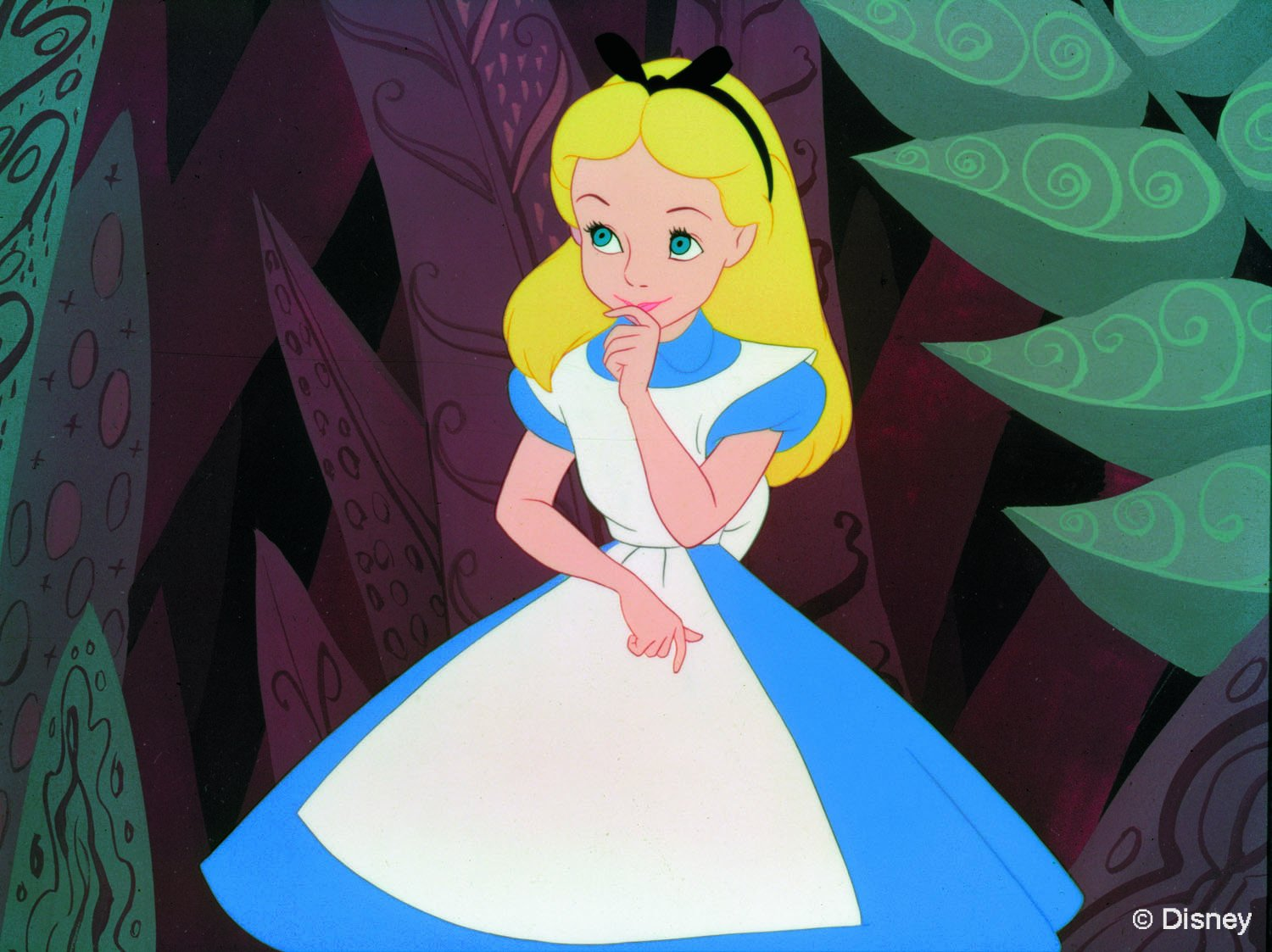 Image result for alice in wonderland animated