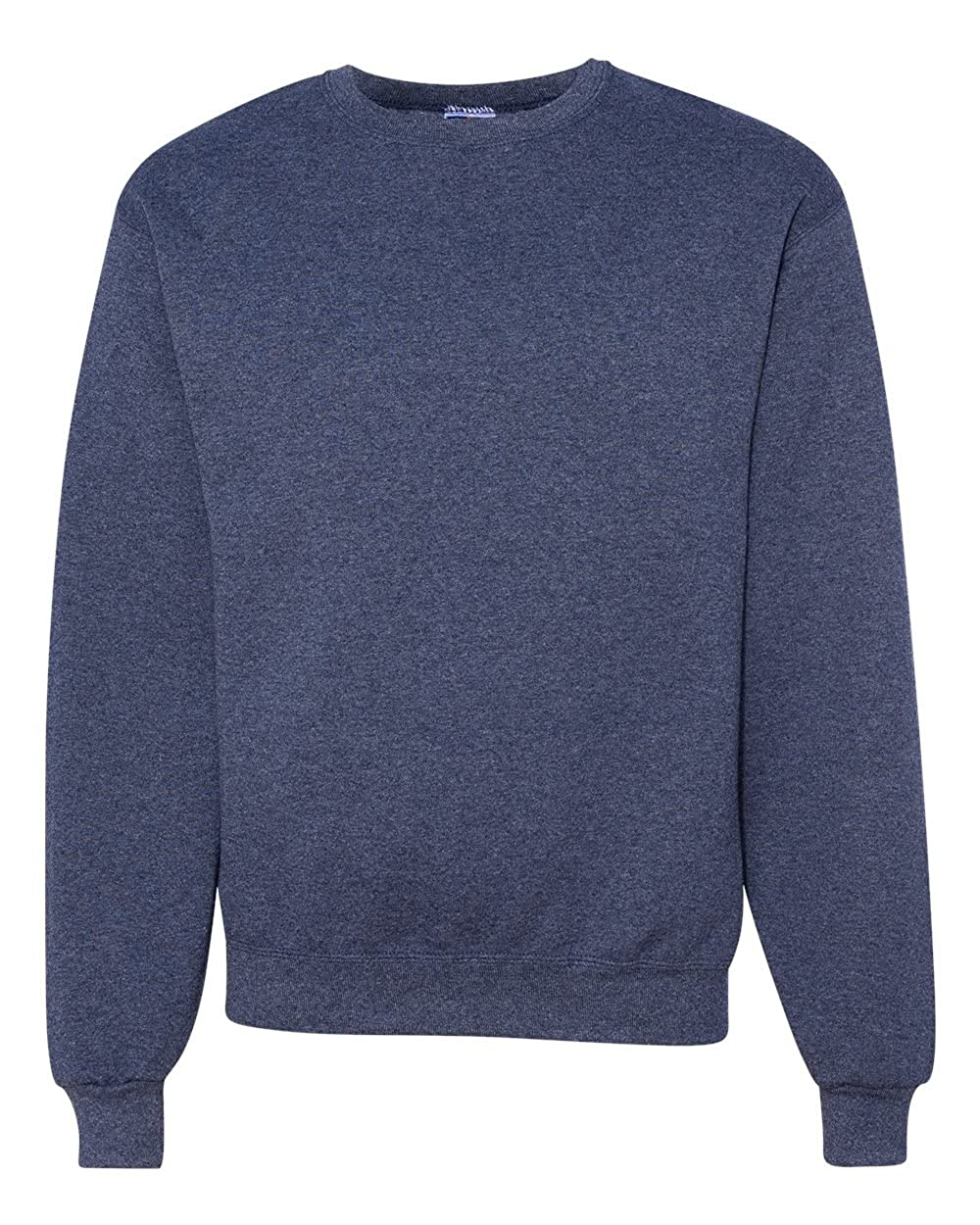 Jerzees mens 8 oz 562 -VINTAGE HTH NAVY-L 50//50 NuBlend Fleece Crew