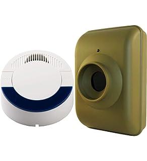 Dakota Alert DCMA-4000 Wireless Motion Detector Driveway Alarm System - DCMT-4000 Passive