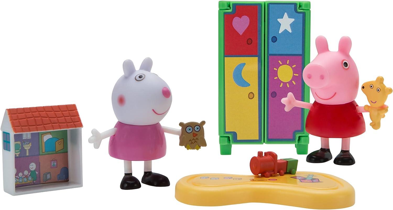Peppa Pig Little Rooms Playdate Fun Playset
