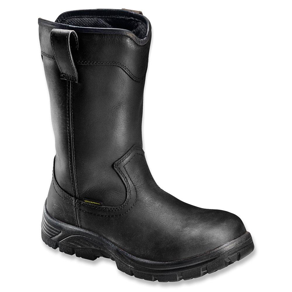 Avenger Safety Footwear メンズ B00JXFT0UE 10.5 D(M) US|ブラック ブラック 10.5 D(M) US