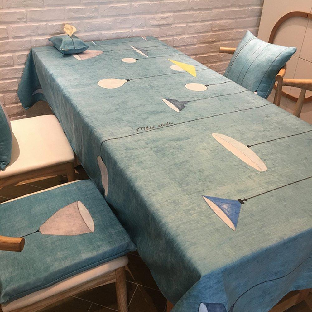 GX&XD Moderno Semplice Camoscio Tovaglie rettangolo,Tabella di tè Tavolo da Pranzo Tovaglie per tavolini Tabella di Copertura Superiore-B 230x140cm(91x55inch)