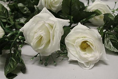 Best artificial tm 220cm7ft silk flower rose garland hanging vine best artificial tm 220cm7ft silk flower rose garland hanging vine wedding string plant mightylinksfo