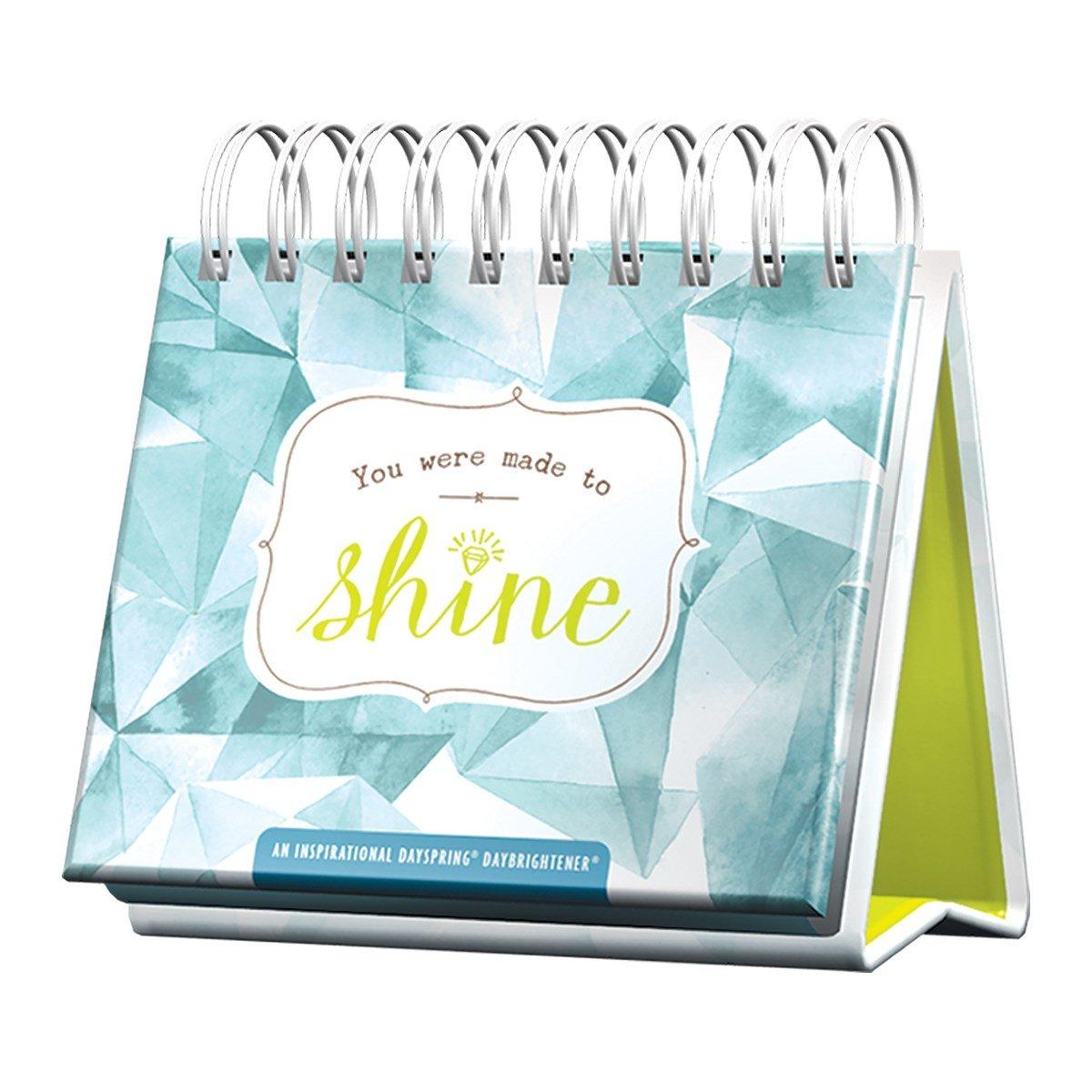 Flip Calendar - You Were Made to Shine