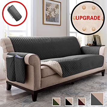 Vailge Sofa Cover,Durable Couch Covers for Dogs,Children,Pets,Sofa Covers for Dogs,Sofa Slipcover,Couch Covers for 3 Cushion Couch,Couch Covers for ...