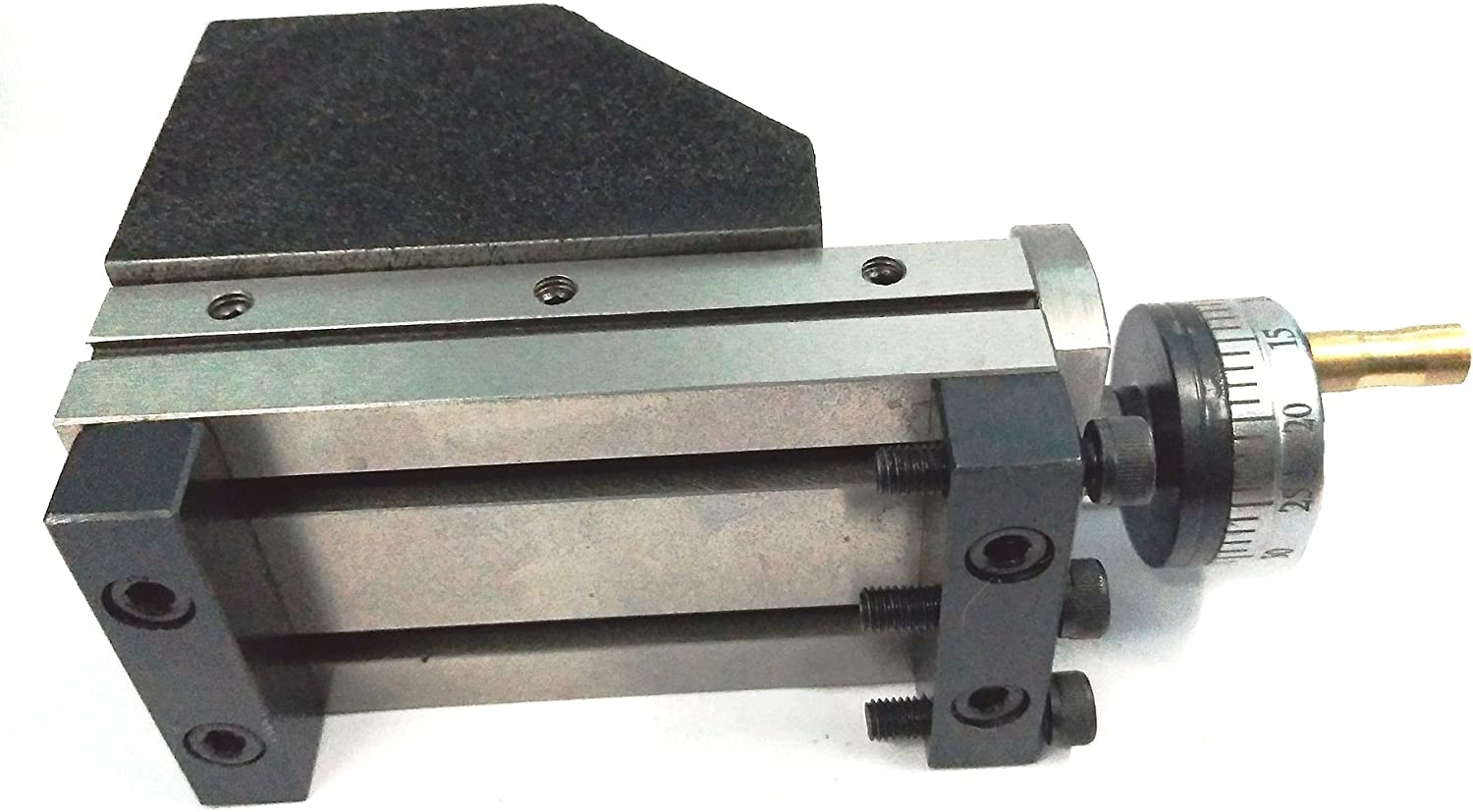 90 x 50 mm Mini Vertical Slide for Instant Milling Operation on Lathe Machine Precision Quality Engineering Accessories Rotary Table Milling Vice Vise Machine Tools