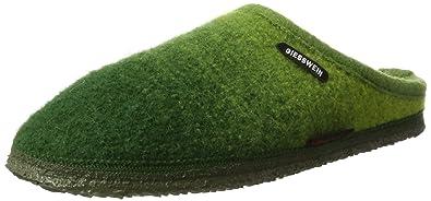 Notzen, Pantuflas para Mujer, Verde (Avocado), 39 EU Giesswein