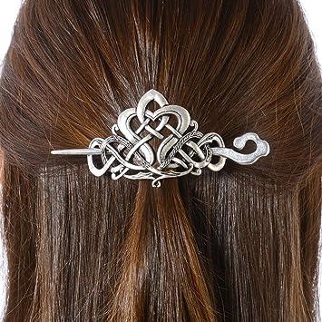 Classic Plastic Stick Pin Hair Barrette Clip Slide 10cm Hair Accessories