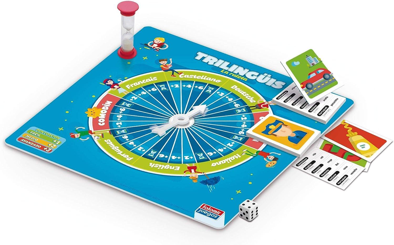 Falomir Trilinguis, Juego de Mesa-Educativo, Multicolor (1): Amazon.es: Juguetes y juegos