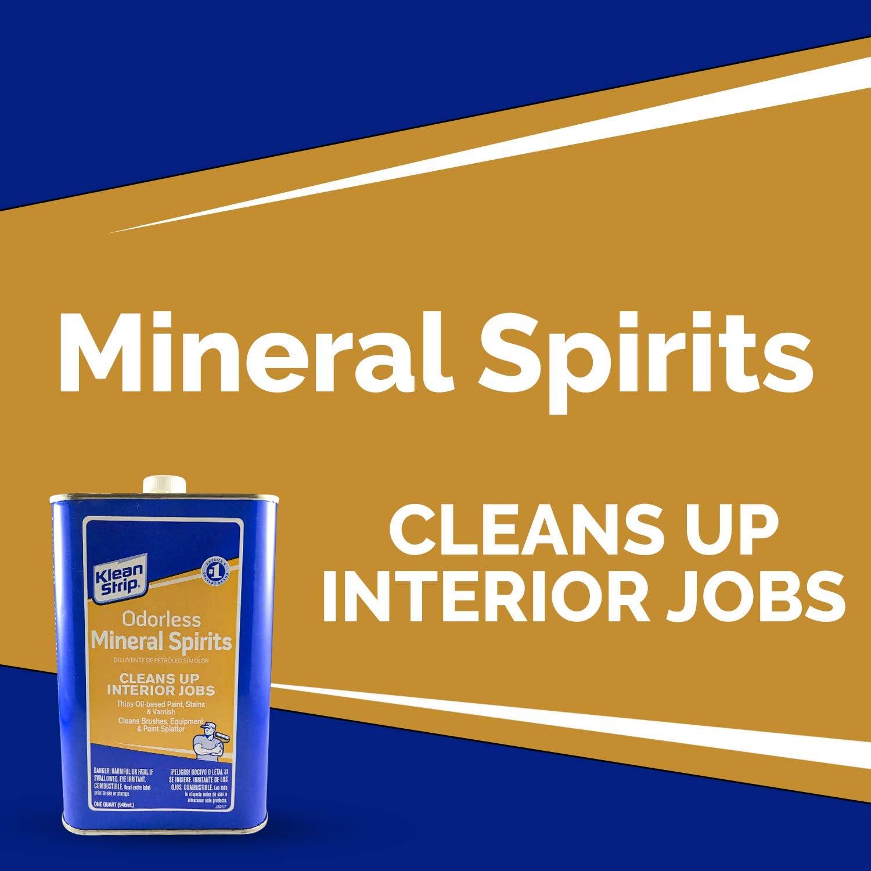 Klean Strip Odorless Mineral Spirits1 Quart