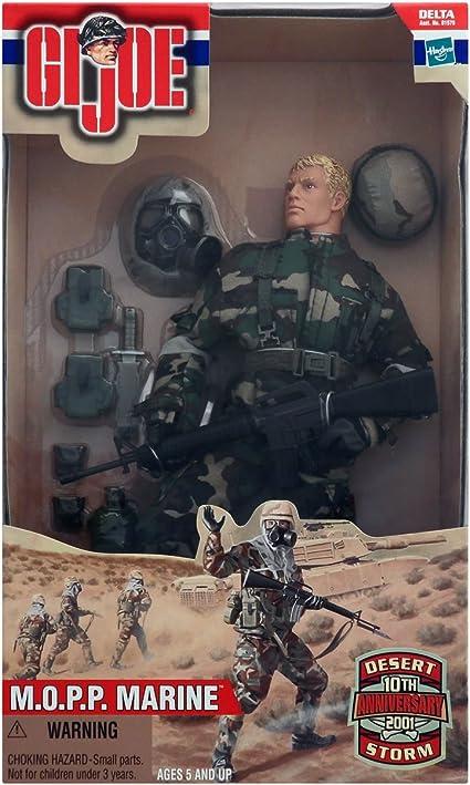 G I Joe Desert Storm 10th Anniversary Edition M.O.P.P Marine 12 Figure