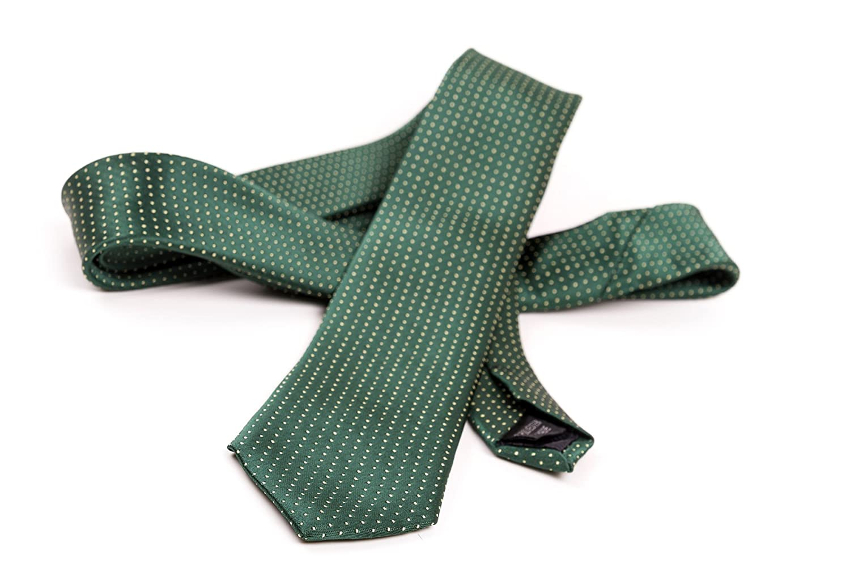 OfficePunk Corbata clásica en verde, rojo y azul - BE SAFE - Ni ...