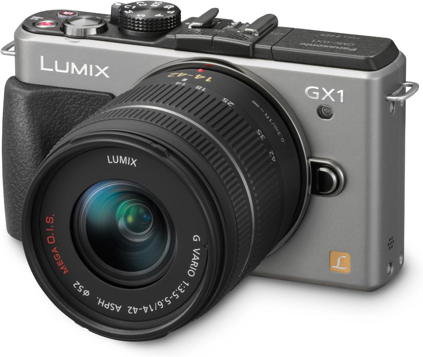 Panasonic Lumix DMC-GX1 - Cámara compacta (16 Mpx, Lente de 14-42 ...