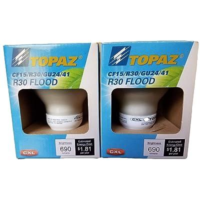 Topaz Reflector Florescent Bulbs (15): Home Improvement [5Bkhe1507495]