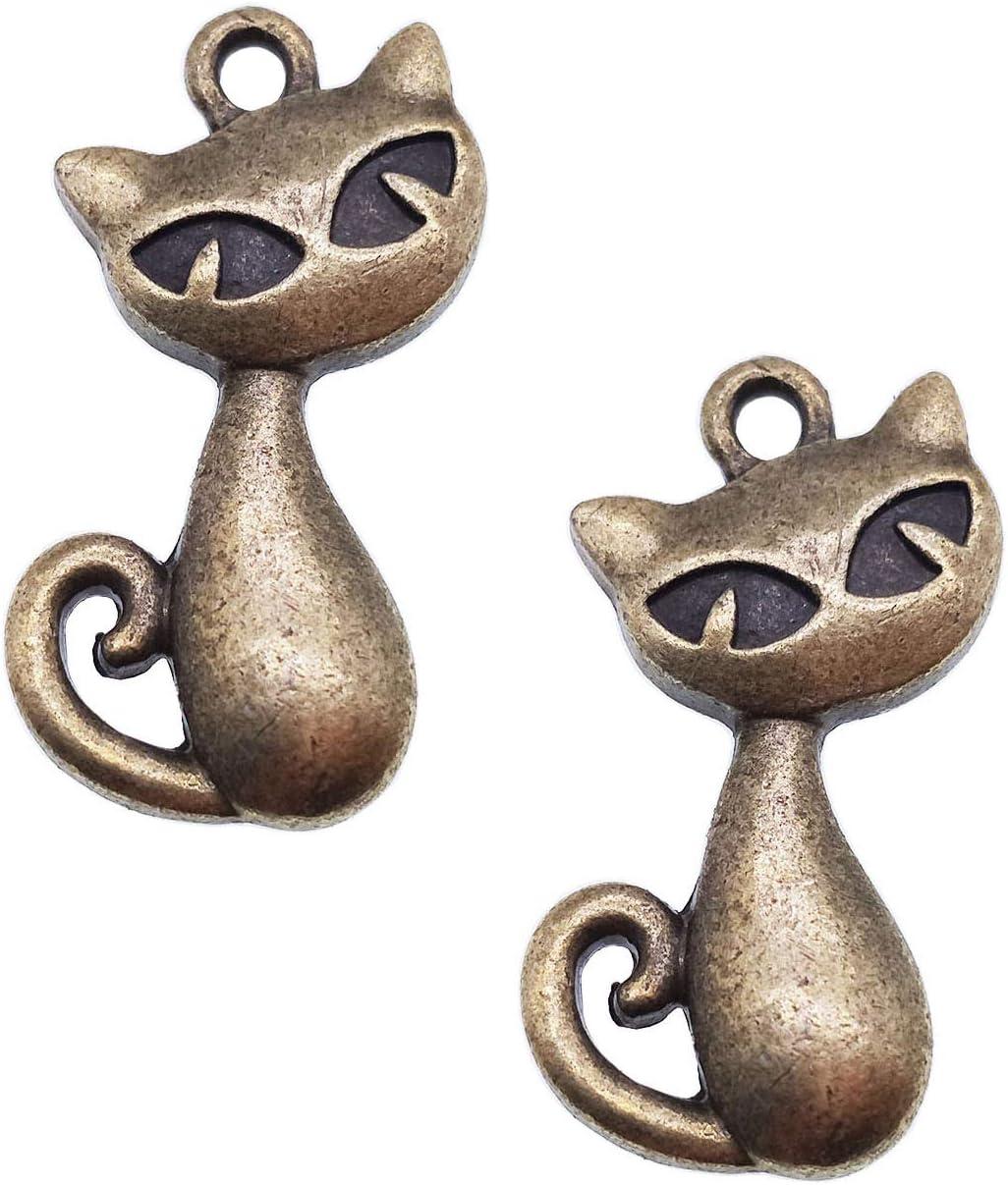 2 Carousel pendants antique silver tone A1039