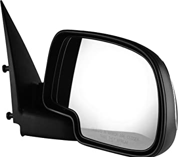 Stick On Manual Non Heated Side View Mirror Glass Passenger Side for GM SUV New