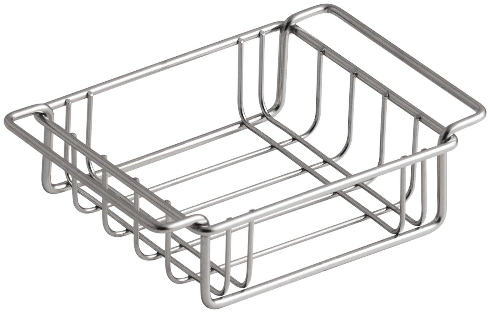 KOHLER K-3127-ST Wire Storage Basket, Fits Undertone Trough Sinks, Stainless Steel