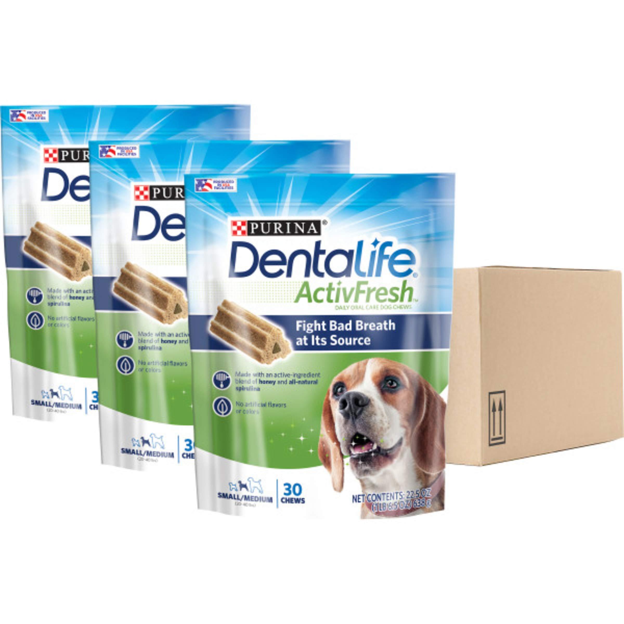 Purina DentaLife Small/Medium Adult Dental Dog Chew Treats