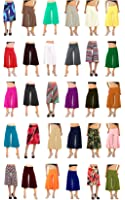 Flowy Soft Gaucho Pants Made in the USA 25 colors available - CAPRIS