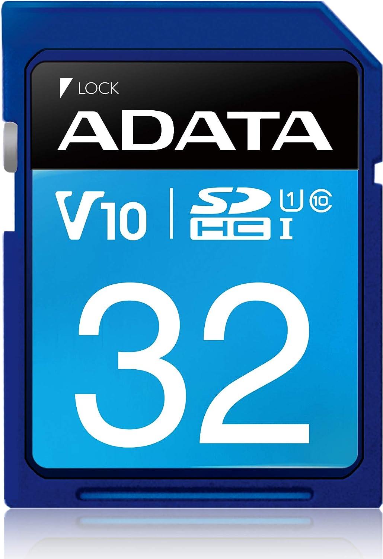 Adata Asdh32guicl10 R Class 1 10 Sdhc Premier 32gb Flash Speicherkarte