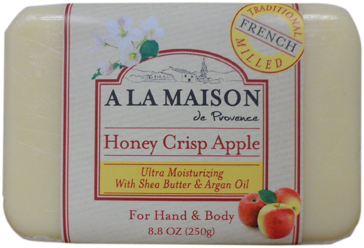 A La Maison Honey Crisp Apple Soap, 8.8 Ounce