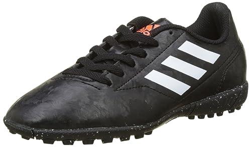 adidas Nemeziz Tango 17.4 TF, Scarpe da Calcio Unisex-Bambini, Nero (Cblack/Solred Cblack/Solred), 32 EU
