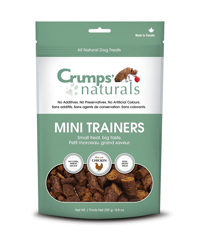 Crumps' Naturals Mini Trainers Chicken (semi-moist) (1 Pack), 250g/8.8 oz Crumps' Naturals MT-C-250