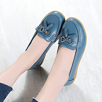 Details about  /Women/'s Slip On Breathable Flat Comfy Ladies Moccasin Loafers Round Toe Shoes B