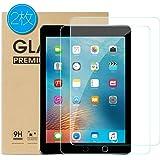 genyin iPad Pro 9.7 ガラスフィルム(2018/2017)Air2 New iPad 9.7 Air ガラスフィルム 2枚入り