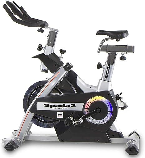 BH Fitness - Bicicleta Indoor spada II: Amazon.es: Deportes y aire ...