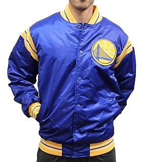 3412dac06 New Era Golden State Warriors NBA Tip Off Sateen Bomber College Jacket Jacke