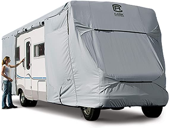 Classic Accessories OverDrive PermaPro Heavy Duty Cover for 32' to 35' Class C RVs
