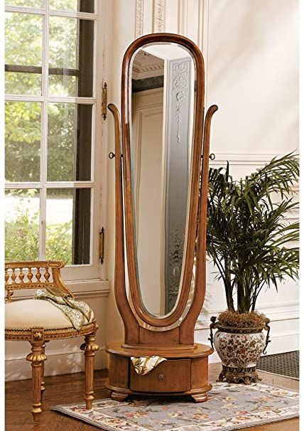 Victorian English Style Full Length Floor Standing Mirror: Amazon.co ...