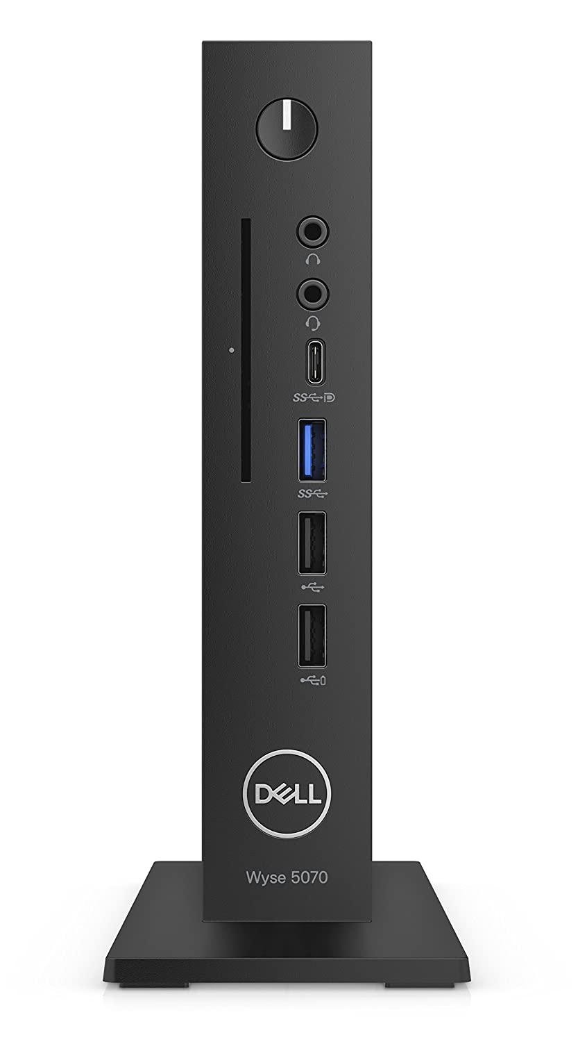Dell Wyse 5070 1,5 GHz J4105 Negro 1,2 kg - Ordenador de sobremesa Mini (1,5 GHz, J4105, Intel® Celeron®, 2,5 GHz, 4 MB, 4 GB)