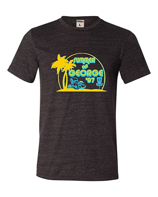 36bb0363388 Amazon.com  Go All Out Adult Summer of George Funny Retro Comedy Triblend T- Shirt  Clothing