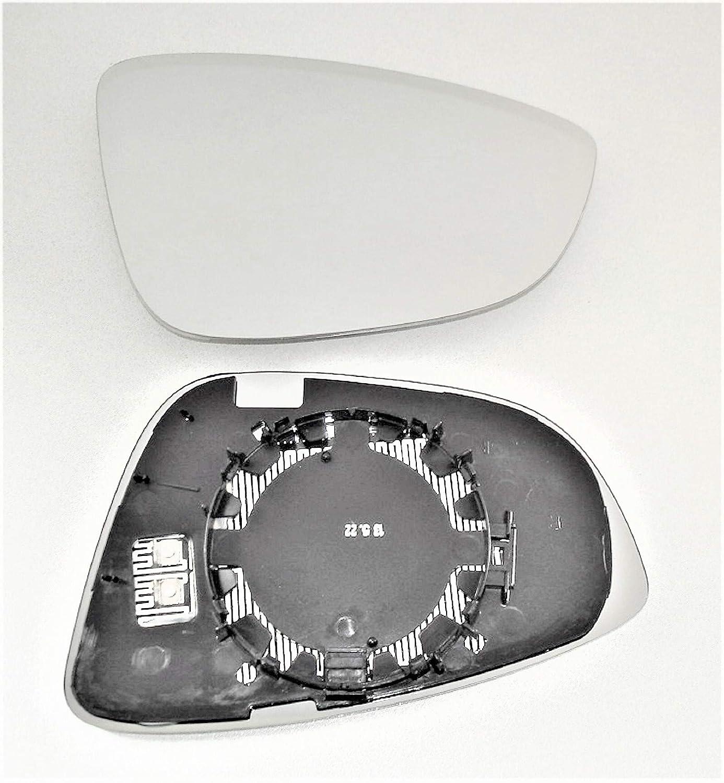 Spiegel Spiegelglas rechts Passat CC Typ 357 beheizbar 03//2008 bis 02//2012 f/ür elektrische und manuelle Aussenspiegel geeignet