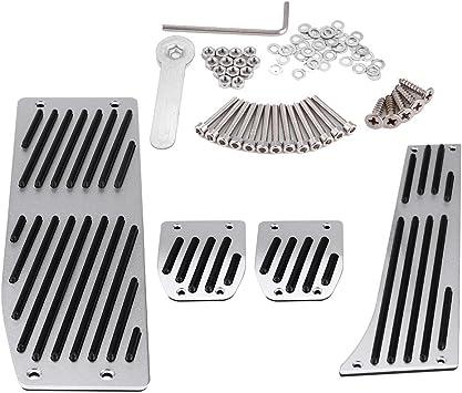 4pcs Car Manual Transmission Clutch Brake Foot Rest Pedal Pad for BMW 1//3//5//7//X1 Series E30 E32 E34 E36 E38 E39 E46 E87 E90 E91 E92 Car Foot Pedal Set