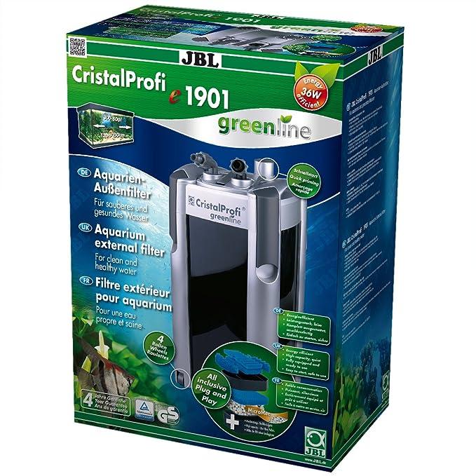 JBL Filtro externo bajo consumo para acuarios de agua dulce y salada, CristalProfi e greenline: Amazon.es: Productos para mascotas