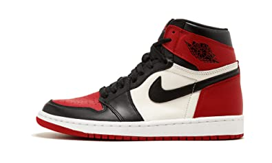 d9b2b9b9deb8dc Image Unavailable. Image not available for. Color  Jordan 1 Retro High Bred  Toe - 555088 610
