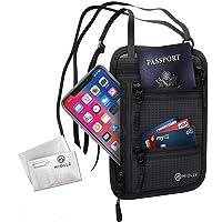 颈钱包 - 护照夹 - Rfid 旅行包 - 防盗防水*隐蔽颈包 男女皆宜