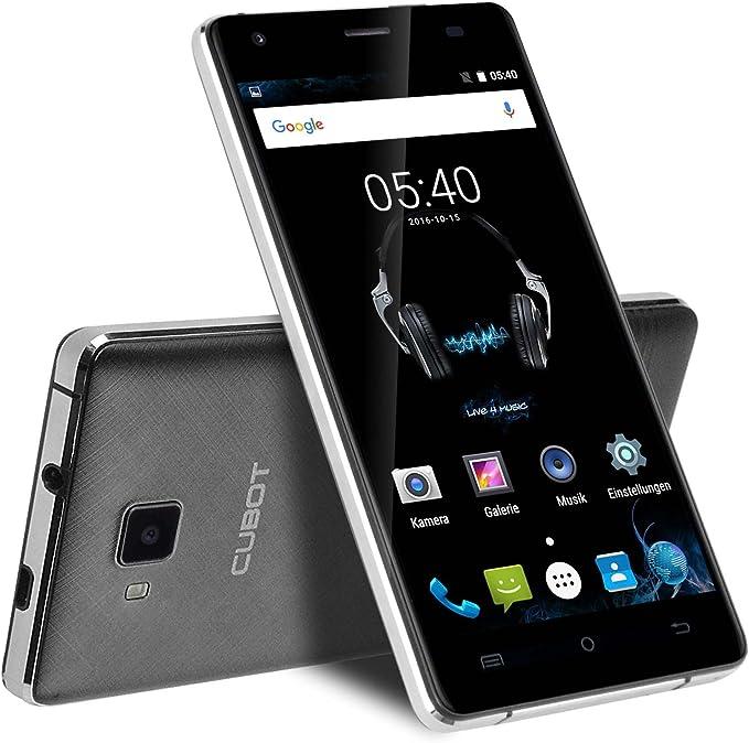 Cubot ECHO Música Smartphone libre 3G Android 6.0 (pantalla de 5.0 Zoll (12.7 cm) IPS HD, Dual sim (SIM estándar y Micro SIM), Qualcomm 1.3 GHz, 1280x 720 píxeles, cámara de 13MP,
