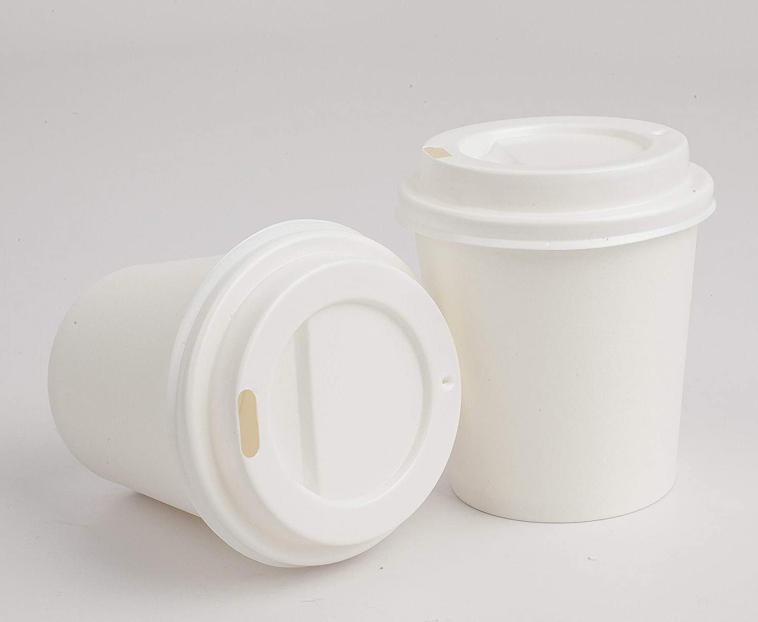 •GOLDEN APPLE, Disposable Paper Coffee Cups 4 oz. Cups & Lids Quantity 50 cups per pack.
